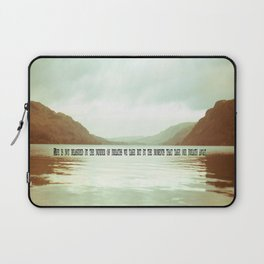 The moments that take our breath away.  Laptop Sleeve