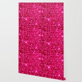 SparklE Hot Pink Wallpaper