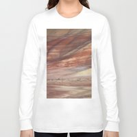 minerals Long Sleeve T-shirts featuring Hills Painted by Earth Minerals by Leland D Howard