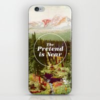 text iPhone & iPod Skins featuring The Pretend Is Near. by Nick Nelson