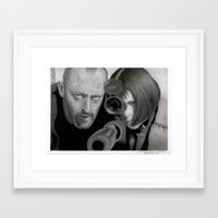 leon Framed Art Prints featuring Leon by Giampaolo Casarini