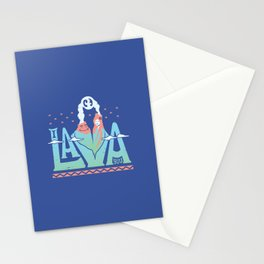 One Lava Stationery Cards