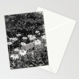 flowers in the garden, june 2018 Stationery Cards