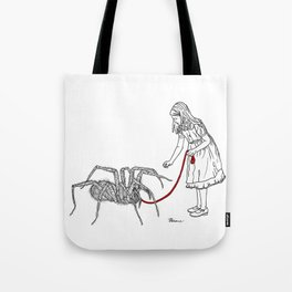 Danger Kids: Little Miss Muffet Tote Bag
