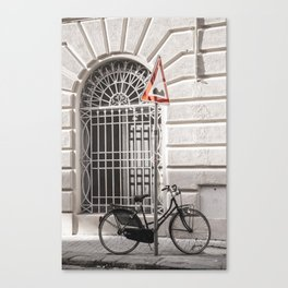 bicycles of Tuscany4 Canvas Print