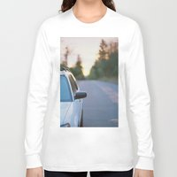 subaru Long Sleeve T-shirts featuring Sunrise by MICHAEL