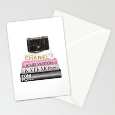 Purse and books Stationery Cards
