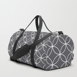 Circles Graphite Gray Duffle Bag