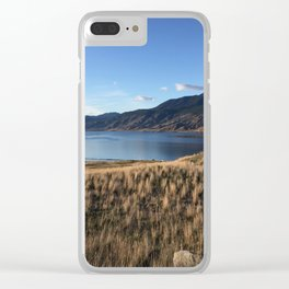 Clear Day by Kamploops Lake Clear iPhone Case