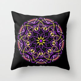 Mandhala Metamorphosis | Reiki | Meditation | Yoga Throw Pillow