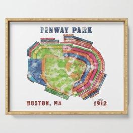 Fenway Park Baseball Stadium Serving Tray