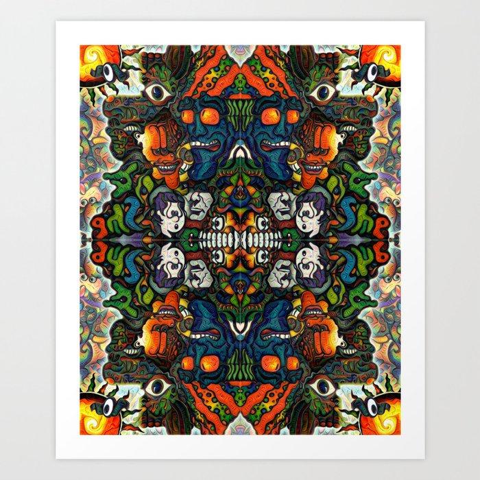 BBQSHOES™: 87 Shirt Dream 1 Art Print