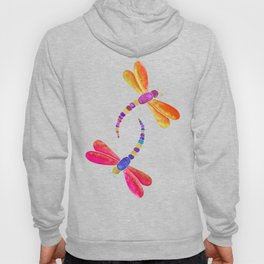 Dragonfly duo - warm pallette Hoody