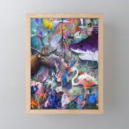 Storm Framed Mini Art Print