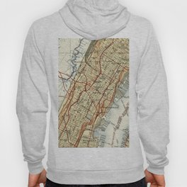 Weehawken, Union City & West New York Map (1935) Hoody