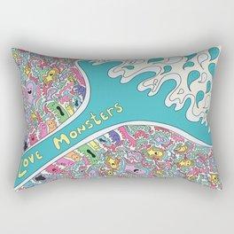 Love Monsters Rectangular Pillow