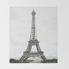 Eiffel Tower - Paris Throw Blanket