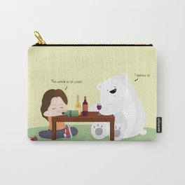 Mr. Polar Bear Carry-All Pouch