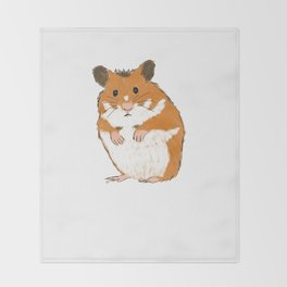 Hamster Throw Blanket