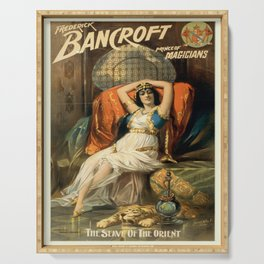 Vintage poster - Frederick Bancroft, Prince of Magicians Serving Tray