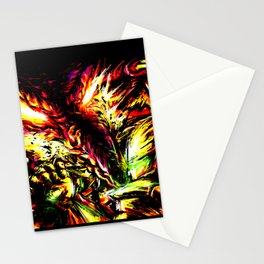 Metroid Metal: Ridley- Through the Fire.. Stationery Cards