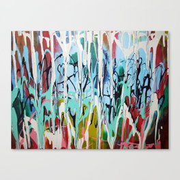 Paint Drip Canvas Print