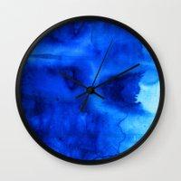 marine Wall Clocks featuring Marine by itsme.emi