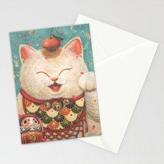 Maneki Neko Stationery Cards