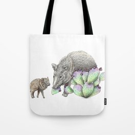 Javelina Family Tote Bag