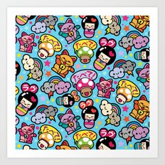 Harajuku Love Art Print