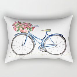 Spring bicycle Rectangular Pillow