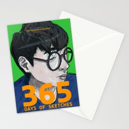 365 Days of Sketches #130 Stationery Cards