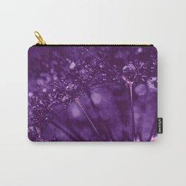 Dandelion (purple) Carry-All Pouch