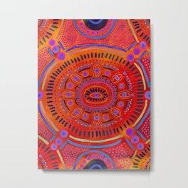 Eye of Spirit III Metal Print