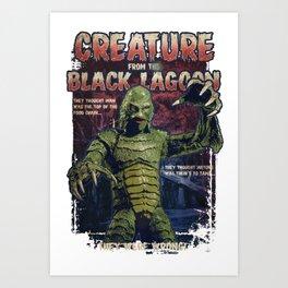 Pop Creature Art Print