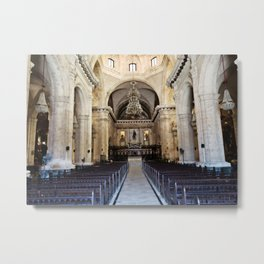 A Sacred Place in the Worn City Metal Print