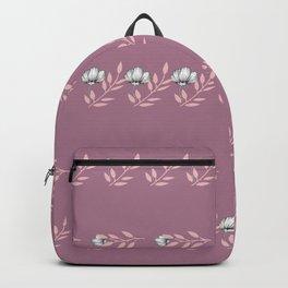 Rose Petal Pattern Backpack