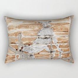 Sario Painter, Animal Farm. Rectangular Pillow