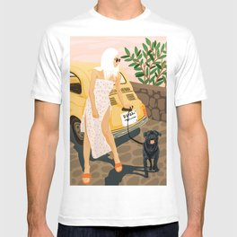 Tour #illustration T-shirt