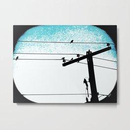 Power lines 507 Metal Print