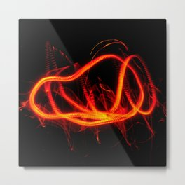Tongues Of Fire Metal Print