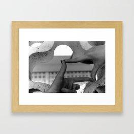 I Believe in Shapes  Framed Art Print