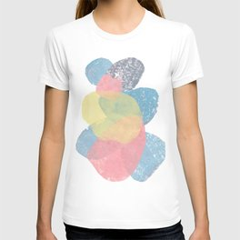 Happy Cairn Graphic Abstract Print T-shirt