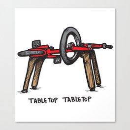Tabletop Tabletop Canvas Print