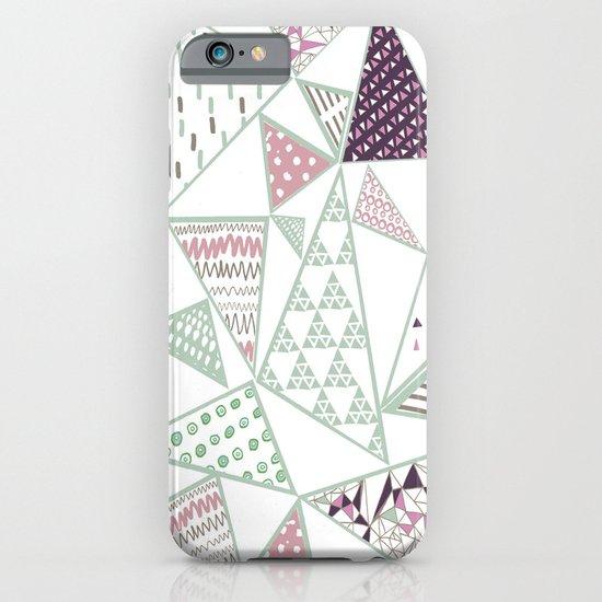 Triangle print 2 iPhone & iPod Case