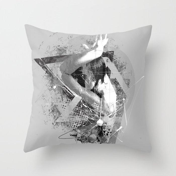 Composure  Throw Pillow