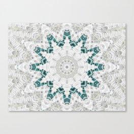 Turquoise Splendor Canvas Print