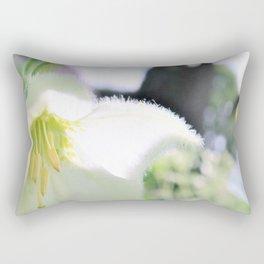 white flower dream Rectangular Pillow