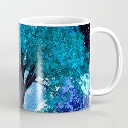 TREE MOON NEBULA DREAM Coffee Mug