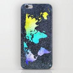 The World Belongs to you iPhone & iPod Skin